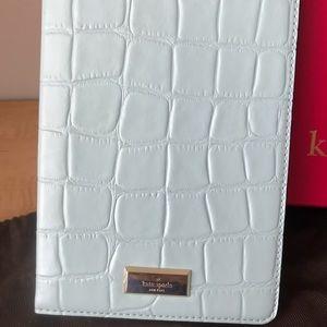 Kate Spade ♠️ iPad Mini case light blue leather